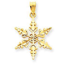 Snowflake Pendant (JC-049)