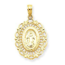 Mary Oval Pendant (JC-914)