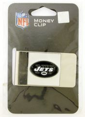NFL New York Jets Steel Money Clip