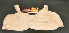 Women's Playtex Full Support All Around Smoothing Wire Free Bra Style 7564 Size 44DD
