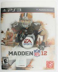 Madden NFL 12 (Sony Playstation 3, 2012)