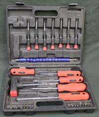 30 pc Cushion Grip Screwdriver Set (Missing Pieces)