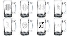 Custom Engraved Stein Glasses