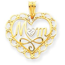 Mom Heart Pendant (JC-895)