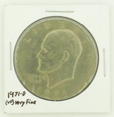 1971-D Eisenhower Dollar RATING: (VF) Very Fine N2-2511-29
