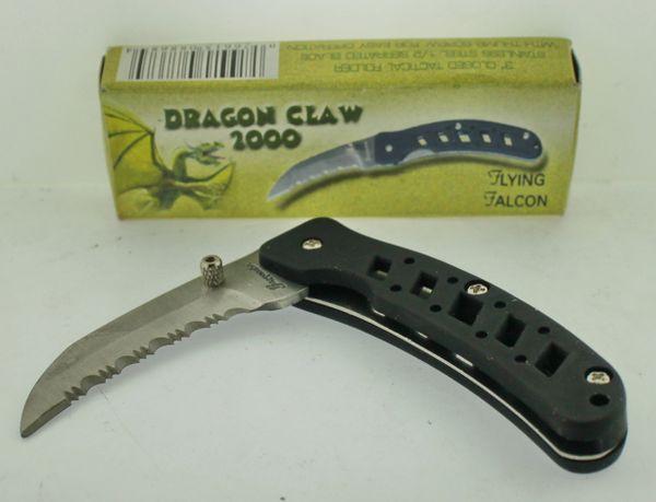 Frost Cutlery Flying Falcon Dragon Claw 2000 15-346B Knife