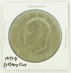 1971-D Eisenhower Dollar RATING: (VF) Very Fine N2-2511-28