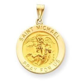 Large Saint Michael Medal Pendant (JC-520)