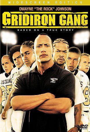Gridiron Gang (DVD, 2007, Widescreen)