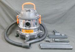 Kubota 4 Gallon 4 HP Stainless Steel Wet/Dry Vac Model 3179371 - 54105