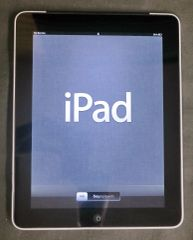 Apple iPad 1st Generation Black 64GB-No Charger