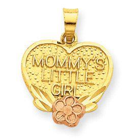 """""""Mommy's Little Girl"""" Charm (JC-718)"""