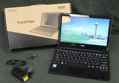 Acer TravelMate 11.6 inch 4GBRAM 320GB HDD Windows 8 Notebook