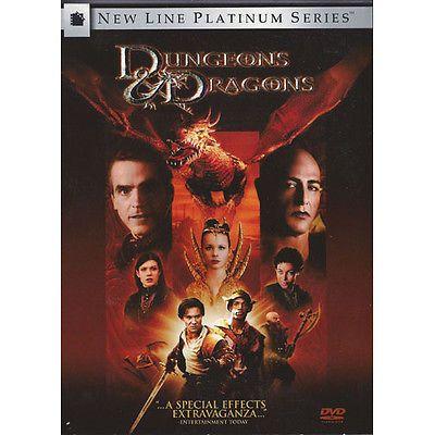 Dungeons & Dragons DVD (2000) Widescreen New Line Platinum Series