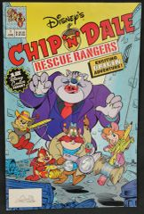 CHIP 'N' DALE RESCUE RANGERS (1990 Series) #1 Comics Book