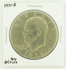 1971-D Eisenhower Dollar RATING: (VF) Very Fine N2-2511-18