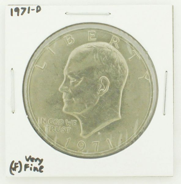 1971-D Eisenhower Dollar RATING: (VF) Very Fine N2-2511-1