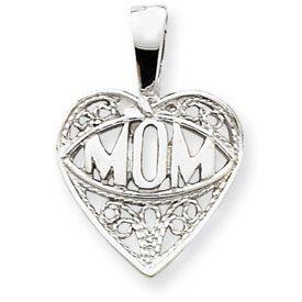 Mom Heart Charm (JC-945)