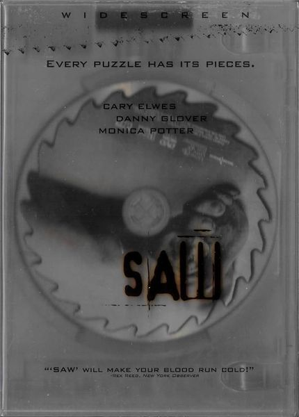 Saw (DVD, 2005, Widescreen)