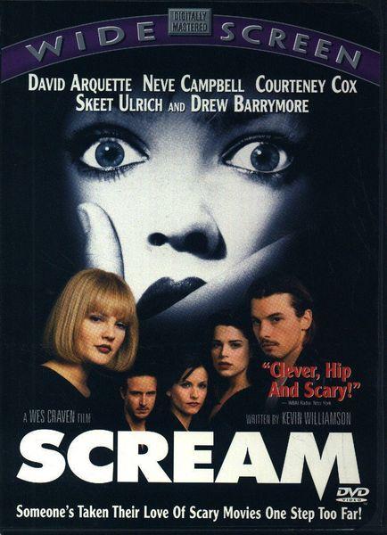 Scream (DVD, 1997)