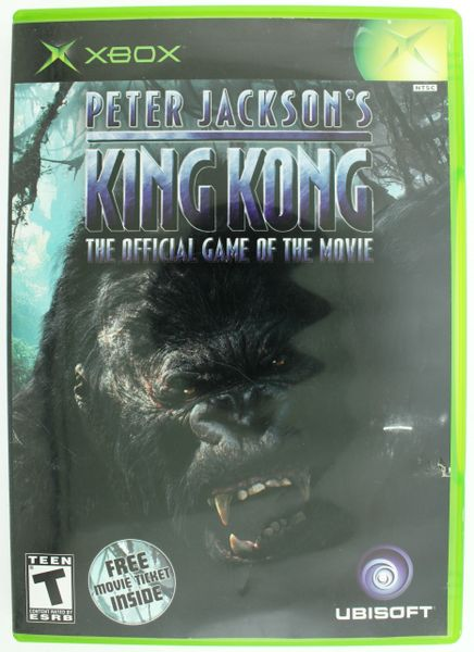 Xbox Original Game - Peter Jackson's King Kong