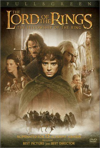 The Lord of the Rings: The Fellowship of the Ring (DVD, 2002) Full Screen