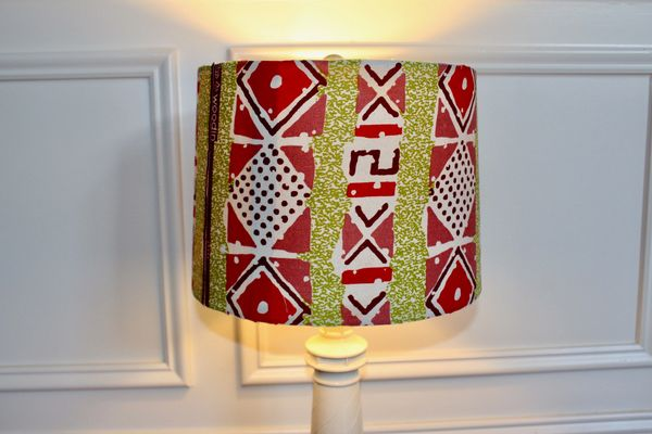 Decortege african inspired home decor home decor decortege lamp shade african print drum aloadofball Choice Image