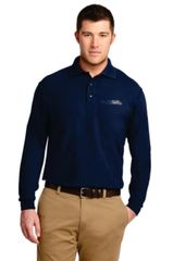 Mens Silk Touch Long Sleeve Polo