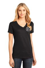 Womens District Made V-Neck Tee