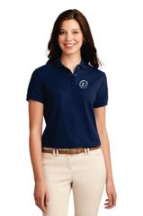 Port Authority Silk Touch Polo Shirt, Ladies short sleeve