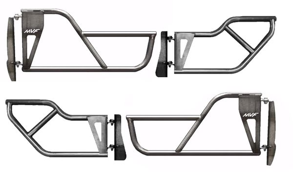 Jeep ZJ Front & Rear Tube Doors - Complete Set | Mountain Vista ...