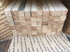 Premium red oak grilling sticks smoker wood chunks