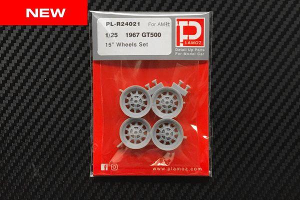 """1/25 1967 GT500 15"""" Wheels Set"""
