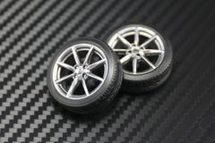 """1/24 2016 MX-5 17"""" Wheels and Tires Set"""