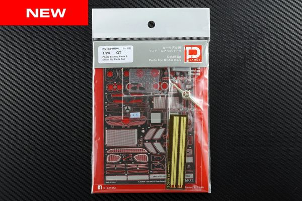 1/24 GT Photo Etched Detail-up Parts Set