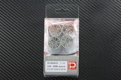 "1/24 570S (Design B) F19"" R20"" Wheels & Tires set"
