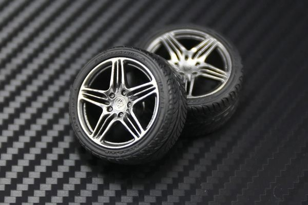 "1/24 Cayman 19"" Turbo Wheels Set"