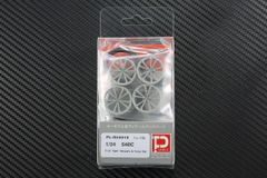 "1/24 540C F19"" R20"" Wheels & Tires set"