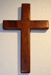 Keys Mahogany Cross