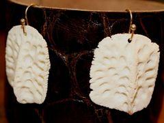 Alligator Scut Earrings 2