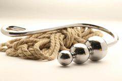 TS Mistress Rachel Triple Ball Hook with 50-75-100MM Balls