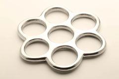 Domme' Paige Fox HoneyComb Suspension Aluminum Ring