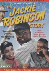 THE JACKIE ROBINSON STORY - (DVD