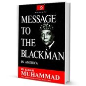 MESSAGE TO THE BLACK MAN IN AMERICANS - (BOOK)SB