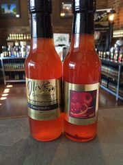 Pomegranate Balsamic HOT Sauce