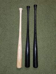 Ash Wood Bats - Solid End