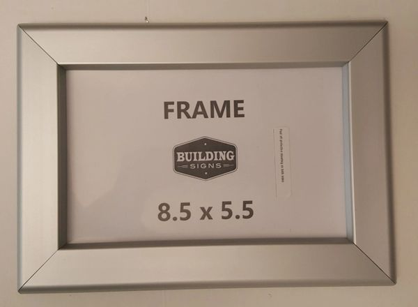 Business License Certificate Frame 85x55 Or 55x85 Heavy Dut
