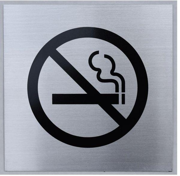 Hpd Sign No Smoking Symbol Sign Heavy Duty Aluminum Signs 6x6