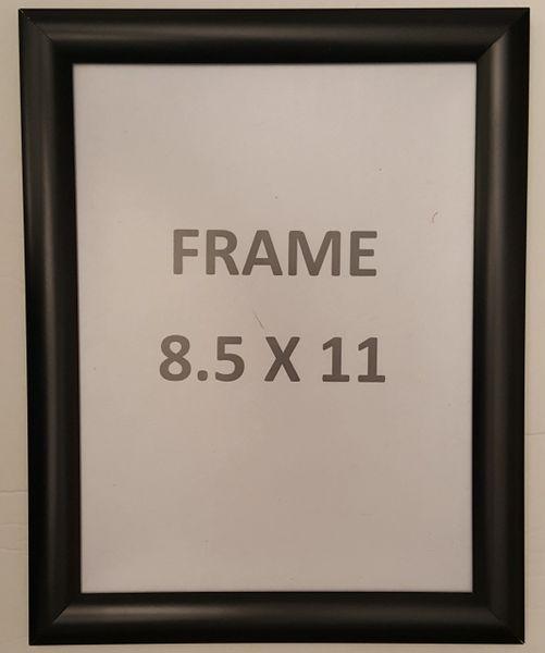 Black Snap Poster Frame Picture Frame Notice Frame 85 X 11 Fr