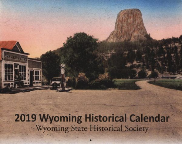 2019 Wyoming Historical Calendar